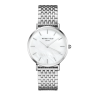 Watches Rosefield The Upper East Side Silver White Pearl
