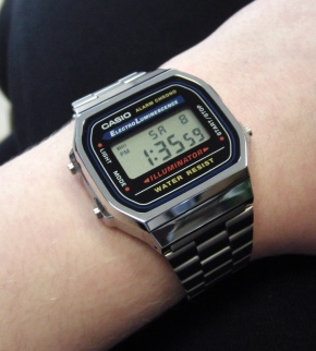 Watches Casio A168WA-1YES