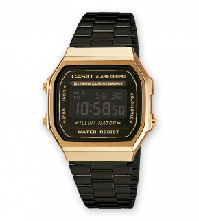 Watches Casio A168WEGB-1BEF