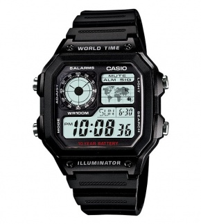 Watches Casio AE-1200WH-1AVDF