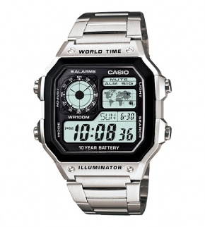 Watches Casio AE-1200WHD-1AVEF