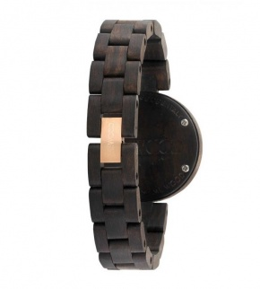 Watches WeWOOD Daphne Black Rough Rose