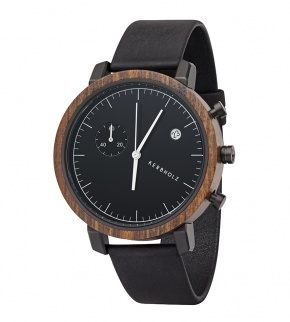 Watches Kerbholz Franz Sandalwood Midnight Black