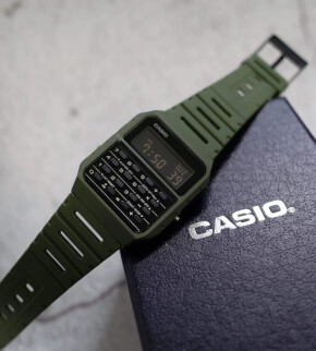 Watches Casio CA-53WF-3BEF with calculator