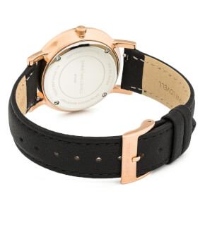 Watches Christian Lovell Premiere Rose Gold Black Black