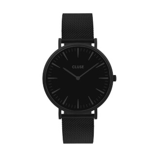 Watches Cluse La Bohème Mesh Black, Black