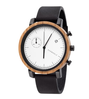 Watches Kerbholz Franz Oak Midnight Black