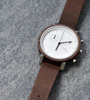 Watches Kerbholz Franz Walnut Tobacco