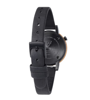 Watches Kerbholz Luise Olivewood Midnight Black