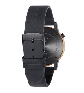 Watches Kerbholz New Walter Olivewood Midnight Black