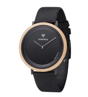 Watches Kerbholz Slim Midnight Maple