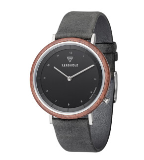Watches Kerbholz Slim Modern Walnut