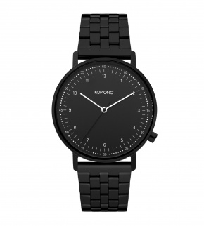 Watches Komono Lewis Estate Black