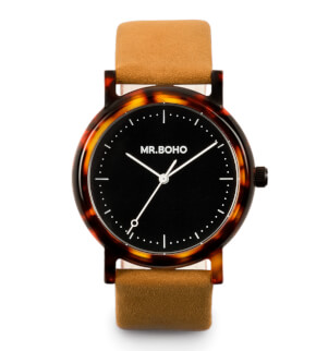 Watches Mr. Boho Acetate Black Walnut