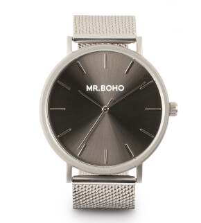 Watches Mr. Boho Metallic Classic Iron Rutenio