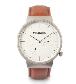 Watches Mr. Boho Multifunction Iron Cowhide