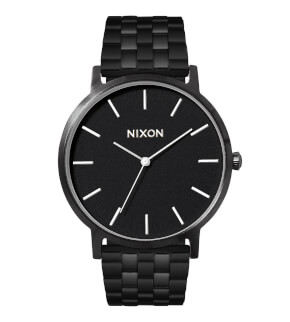 Watches Nixon Porter All Black / White