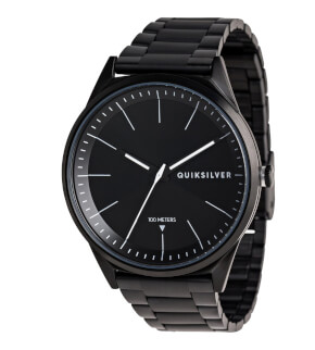 Watches Quiksilver Bienville Metal Black White XKKW