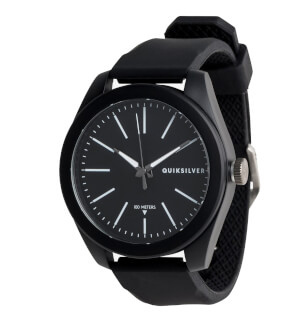 Watches Quiksilver Furtiv Black KVJ0