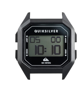 Watches Quiksilver Homie Digital Case Black KVJ0
