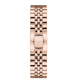 Watches Rosefield The Ace Silver Sunray Rosegold
