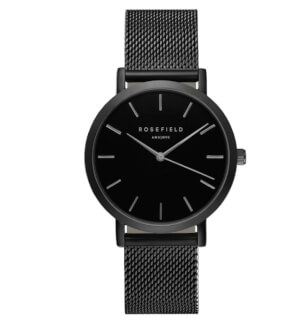 Watches Rosefield The Mercer Full Black