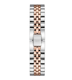 Watches Rosefield The Small Edit White Steel Silver Rosegold Duo 26mm