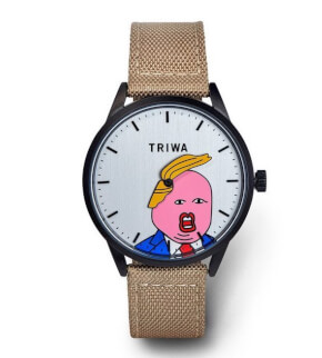 Watches Triwa Comb-Over Mustard Donald Trump