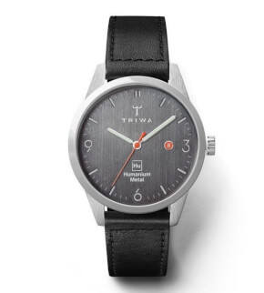 Watches Triwa Hu39D Black Sewn Classic