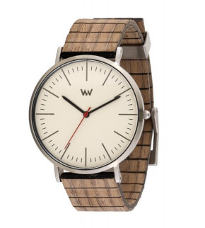 Watches WeWOOD Horizon Silver Ivory Nut