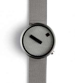 Watches Nava Jacquard Steel 39mm Mesh