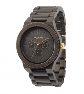 Watches WeWOOD Kappa Black Gold