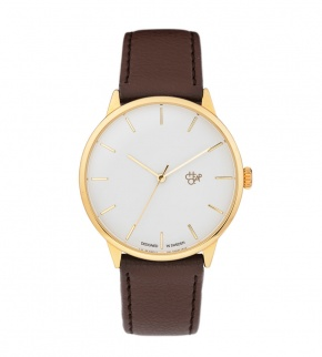 Watches CHPO Khorshid Gold Gold/Dark Brown