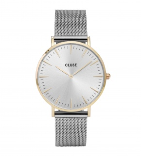 Watches Cluse La Bohème Mesh Gold/Silver