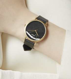 Watches Cluse La Roche Gold Black Marble/Black