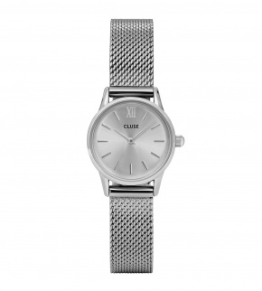 Watches Cluse La Vedette Mesh Full Silver
