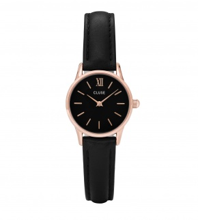 Watches Cluse La Vedette Rose Gold Black/Black