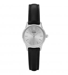 Watches Cluse La Vedette Silver Silver/Black