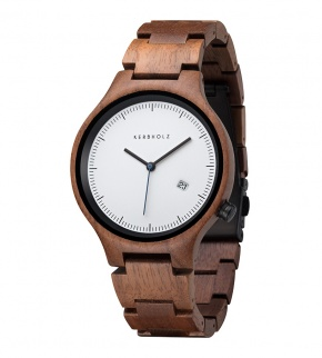 Watches Kerbholz Lamprecht date walnut