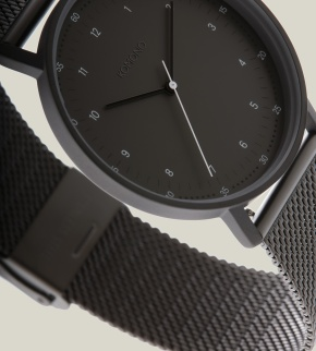 Watches Komono Lewis Gun Mesh