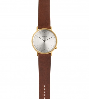 Watches Komono Lewis Saddle Brown