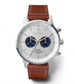 Watches Triwa Loch Nevil Tumbled Brown Sewn Classic 2
