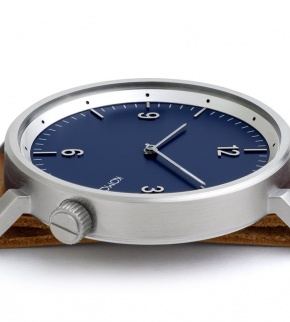 Watches Komono Magnus II Blue Cognac