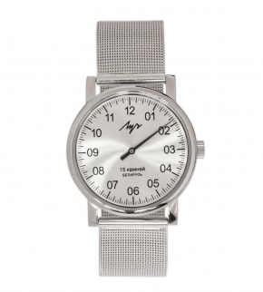 Watches Luch Mesh Silver mechanical