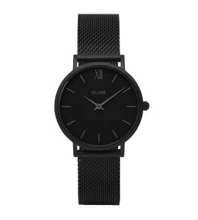 Watches Cluse Minuit Mesh Full Black