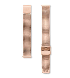 Straps Rosefield Small Edit Mesh Rosegold / 12 mm