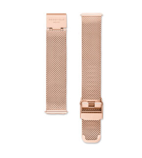 Straps Rosefield Tribeca Mesh Rosegold / 16 mm