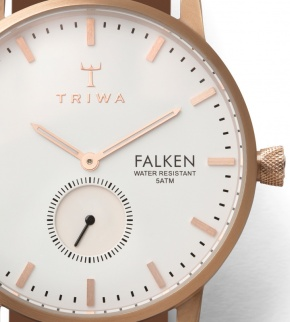 Watches Triwa Rose Falken Tan Classic