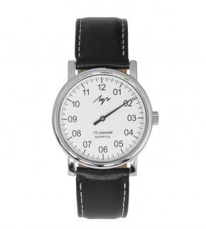 Watches Luch Silver White Black mechanické
