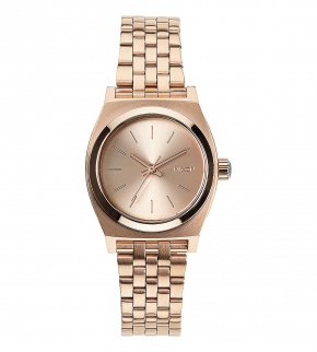 Watches Nixon Small Time Teller All Rose Gold